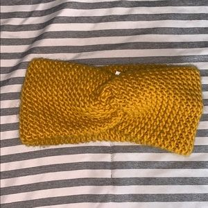 Forever 21 Knitted Wrap Headband